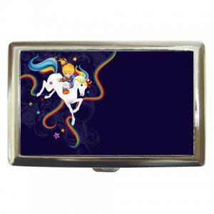 RAINBOW BRIGHT - Flat Wallet Case - Nerd Geek Girly