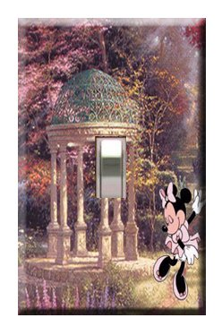 Minnie Mouse Gazebo Single Switchplate Cover