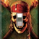 Pirates of the Carribean Single Switchplate Cover