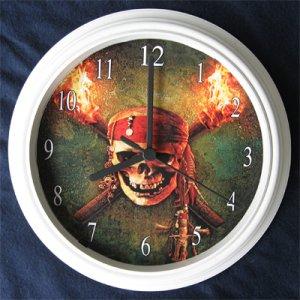 Pirates of the Carribean Decorative Wall Clock
