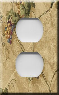 Grapevines on the Wall Outlet Cover