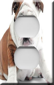 I'm Cool Bulldog Decorative Outlet Cover