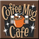 Coffee Mug Cafe Decorative Double Switchplate Cover