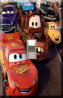 Lightning McQueen Decorative Single Switchplate Cover