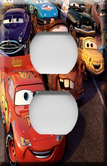 Lightning McQueen Decorative Outlet Cover