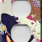 Geisha Girl Decorative Outlet Cover