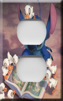 Lilo & Stitch Handcrafted Outlet Cover