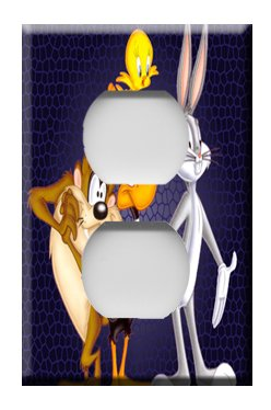 Looney Tunes #3 Handcrafted Outlet Cover