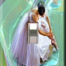 Prima Donna Ballerina Handcrafted Single Switchplate Cover