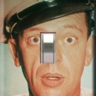 Barney Fife Handcrafted Single Switchplate Cover