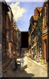 Monet LaBovolle Street Handcrafted Single Switchplate Cover
