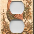 Kitchen Rooster Handcrafted Outlet Cover