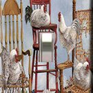 Lots of Roosters Handcrafted Single Switchplate Cover