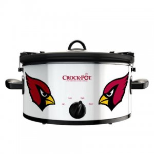 Official NFL Crock-Pot Cook & Carry 6 Quart Slow Cooker - Arizona Cardinals