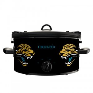 Official NFL Crock-Pot Cook & Carry 6 Quart Slow Cooker - Jacksonville Jaguars