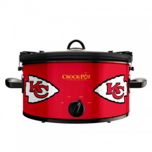 Official NFL Crock-Pot Cook & Carry 6 Quart Slow Cooker - Kansas City Chiefs