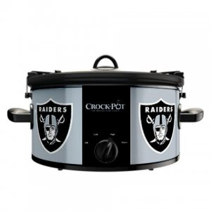 Official NFL Crock-Pot Cook & Carry 6 Quart Slow Cooker - Oakland Raiders