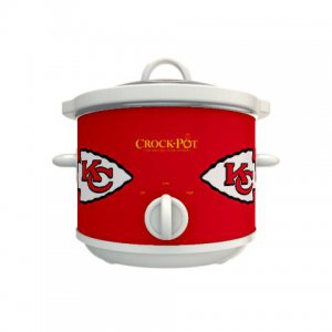 Official NFL Crock-Pot Cook & Carry 2.5 Quart Slow Cooker - Kansas City Chiefs