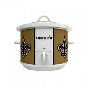 Official NFL Crock-Pot Cook & Carry 2.5 Quart Slow Cooker - New Orleans Saints