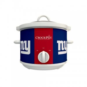 Official NFL Crock-Pot Cook & Carry 2.5 Quart Slow Cooker - New York Giants