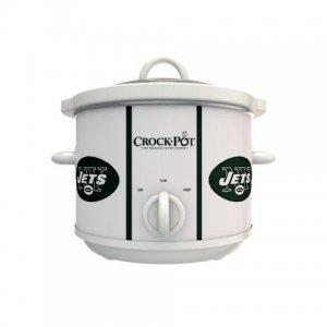 Official NFL Crock-Pot Cook & Carry 2.5 Quart Slow Cooker - New York Jets