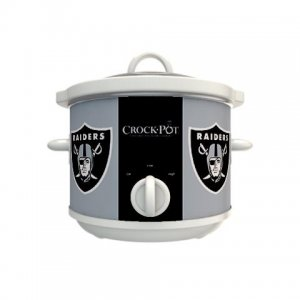 Official NFL Crock-Pot Cook & Carry 2.5 Quart Slow Cooker - Oakland Raiders