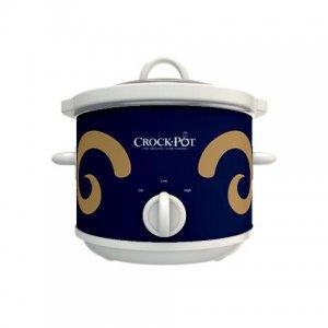 Official NFL Crock-Pot Cook & Carry 2.5 Quart Slow Cooker - St. Louis Rams