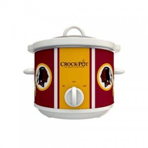 Official NFL Crock-Pot Cook & Carry 2.5 Quart Slow Cooker - Washington Redskins