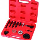 12pc Power Steering Alternator AC Pulley Puller Installer Extractor Tool Kit Set V-VT01041
