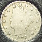 1912-D Liberty Head Nickel Partial Liberty VG #149