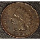 1900 Indian Head Penny XF FULL LIBERTY #154