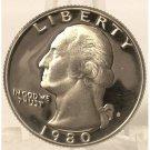 1980 S Proof Washington Quarter DCAM PF65 #180