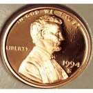 1994-S DCAM Proof Lincoln Cent PF65 #184