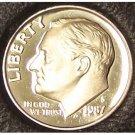 1987-S DCAM Proof Roosevelt Dime PF65 #203