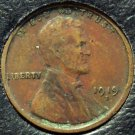 1919-S Lincoln Wheat Back Penny VF #224
