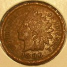 1896 Indian Head Penny G #240
