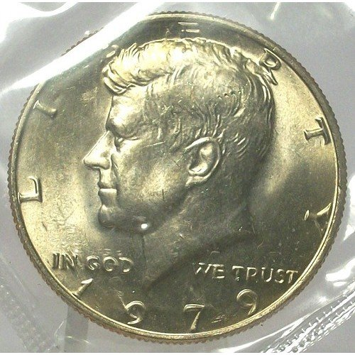 1979-P Kennedy Half Dollar MS65 In the Cello #264