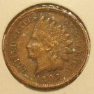 1907 Indian Head Penny FULL LIBERTY F12 #320