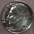 1974-S DCAM Proof Roosevelt Dime PF65 #170