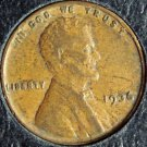 1936 Lincoln Wheat Penny  VF  #212