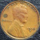 1936-S Lincoln Wheat Penny  VF #606