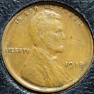 1918 Lincoln Wheat Penny  VF #805