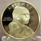 2007-S Proof Sacagawea Dollar DCAM PF65 FREE S&H #330