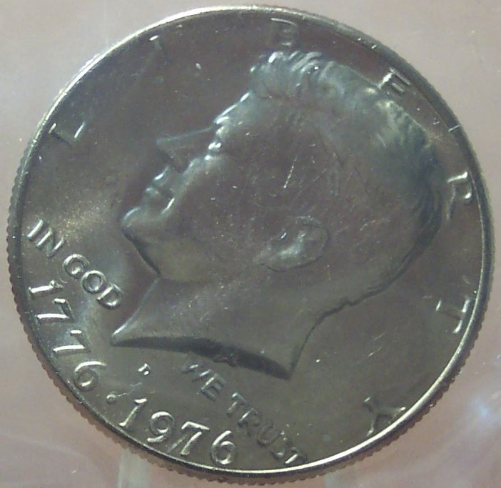 1976-D Kennedy Half Dollar MS65 In the Cello #239