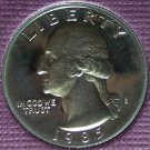 1985-S DCAM Clad Proof Washington Quarter PF65DC #375