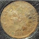 1874 Indian Head Cent Fine Details FREE SHIPPING #946