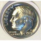 1975-S DCAM Proof Roosevelt Dime PF65 # 587