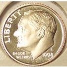 1994-S DCAM Roosevelt Dime PF65 #607