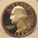 1988-S Proof DCAM Washington Quarter PF65 #622