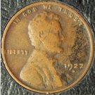 1927-D Lincoln Wheat Cent VG #696